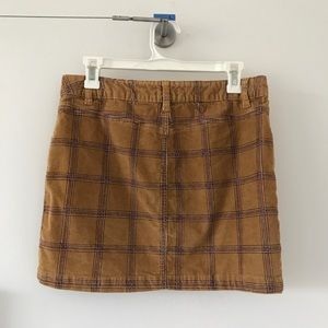 Urban Outfitters Corduroy Mini-Skirt